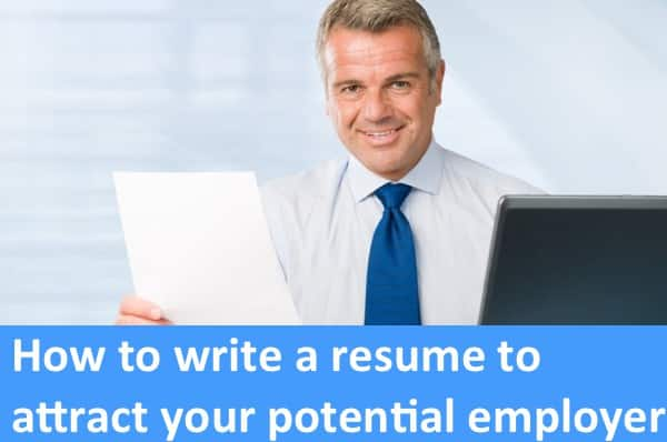 get employer attention