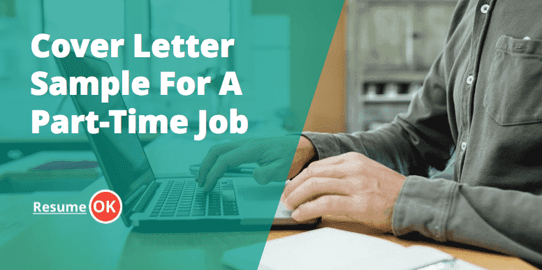 Cover Letter Sample For A PartTime
