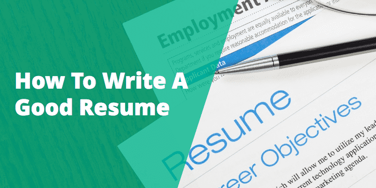 how to write a resume - Write My Resume