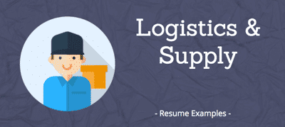 Logistics & Supply Resumes