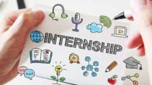 how to put internship in a resume